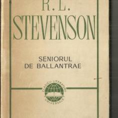 [11] SENIORUL DE BALLANTRAE - R.L.STEVENSON - Carte poezie