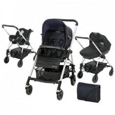 Carucior Trio Streety Total Black - Carucior copii 3 in 1 Bebe Confort