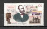 Germania.1997 100 ani moarte H. von Stephen-organizatorul Postei SG.914, Nestampilat