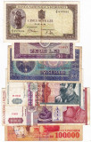 25) Lot 6 bancnote 1941,1992,1994,1966,1998