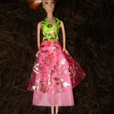 Papusa tip Barbie, papusa pentru fetite, printesa, 29 cm, 4-6 ani, Plastic, Fata