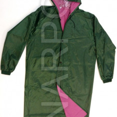 Pelerina de ploaie impermeabila cusaturi termosudate XL - Pelerina ploaie