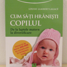 CUM SA-TI HRANESTI COPILUL, DE LA LAPTELE MATERN LA DIVERSIFICARE - Carte Ghidul mamei