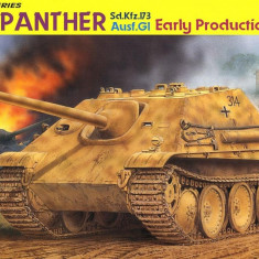 + Macheta 1/35 Dragon 6458 Smart Kit - Sd.Kfz.173 Jagdpanther Ausf.G1 Early +