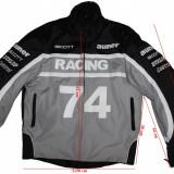 Geaca moto Racing, protectii, barbati, marimea XXL