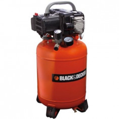 Compresor aer Black&Decker BD 195/24V-NK, 1.5 CP, 10 Bar, 24 l - Compresor electric