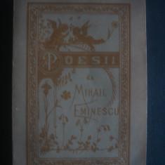 MIHAIL EMINESCU - POESII * reproducere din 1884