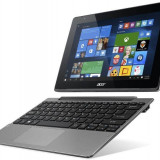 "Tableta Acer Switch 10V SW5-014, 10.1"", 64GB Flash, 2GB RAM, Wi-Fi, 4G, Windows 10 Pro, Silver"