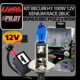 KIT BECURI H1 90/100W XENIUM RACE 2BUC, Universal