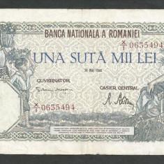 ROMANIA  100000  100.000 LEI  28  MAI  1946   [19]   VF