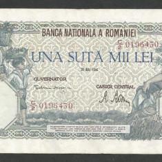 ROMANIA  100000  100.000 LEI  28  MAI  1946   [9]   VF+
