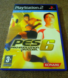 Joc Pro Evolution Soccer PES 6, PS2, original, alte sute de jocuri!, Sporturi, 3+, Multiplayer