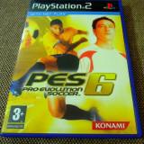 Joc Pro Evolution Soccer PES 6, PS2, original, alte sute de jocuri!