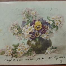 CP scrisa olograf de A. C. Cuza si expediata catre Eliza A. D. Xenopol