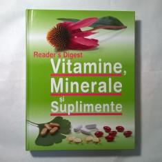 Vitamine, Minerale si Suplimente {Reader's Digest}
