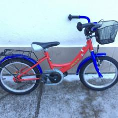 46 bicicleta copii jacky second-hand, germania r16, 12 inch, Numar viteze: 1