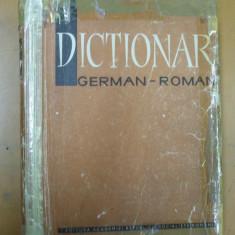 German - roman 140 000 cuvinte Bucuresti 1966 dictionar academia romana