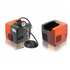 Compresor CUBO fara ulei Black&Decker, 8 bar, 1.5 HP - Compresor electric