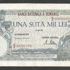 ROMANIA  100000  100.000 LEI  28  MAI  1946   [29]