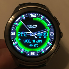 Lg Urbane 2 - Smartwatch, Otel inoxidabil, Android Wear