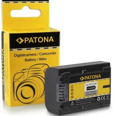 Acumulator Sony NP-FV50, NP-FV30, HDR-CX110, HDR-CX170, compatibil marca Patona, - Baterie Aparat foto PATONA, Dedicat