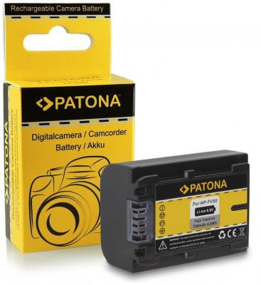 Acumulator Sony NP-FV50,NP-FV30, HDR-CX110, HDR-CX170, compatibil marca Patona, foto