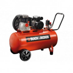 Compresor de aer Black&Decker BD 320/50-3M, 3 CP, 10 bar, 50 L - Compresor electric