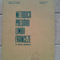 Metodica predarii limbii franceze didactica si pedagogica