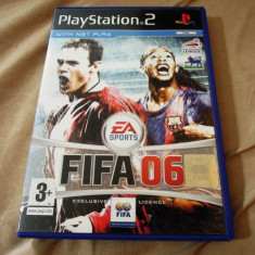 Fifa 06, PS2, original, alte sute de jocuri! - Jocuri PS2 Ea Sports, Sporturi, 3+, Multiplayer