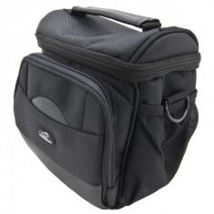 Geanta camera foto si accesorii, middle, neagra, Esperanza - Geanta laptop