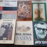 PAUL GOMA: LOT 25 VOLUME APARUTE INTRE 1990 SI 1998 (+BONUS: VOLUMUL DE DEBUT)