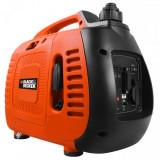 Generator de curent monfazat pe benzina Black&Decker BD 1000S, 850 W, 2 L - Generator curent Black & Decker, Generatoare uz general