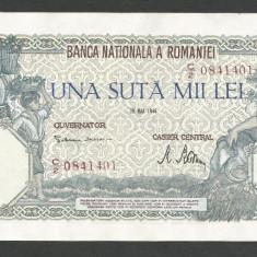 ROMANIA  100000  100.000 LEI  28  MAI  1946   [16]   VF