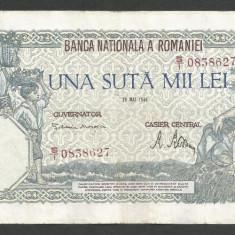 ROMANIA  100000  100.000 LEI  28  MAI  1946   [7]   XF