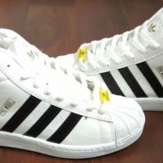 Ghete Adidas Barbati PERFECTI - Ghete barbati, Marime: 40, 41, Culoare: Alb, Piele sintetica