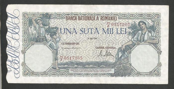 ROMANIA  100000  100.000 LEI  28  MAI  1946   [5]   XF