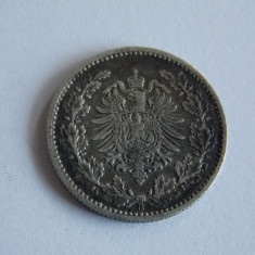 Moneda de argint 50 pfennig 1877 (519), Europa