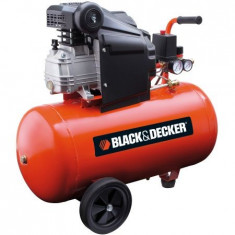 Compresor aer Black&Decker BD 205/50, 8 bar, 2 CP, 50 L - Compresor electric