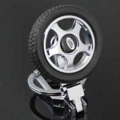 Breloc auto metalic si detaliu plastic pentru Land Rover + ambalaj  cadou