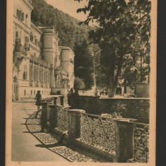 CPI (B8010) CARTE POSTALA - BAILE HERCULANE. SANATORIUL BALNEAR, RPR, Circulata, Fotografie
