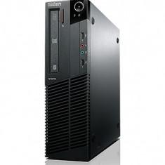 Calculatoare Lenovo Thinkcentre M92p SFF, Intel Core i5-3470 Gen 3, 3.2Ghz, 4Gb DDR3, 250Gb HDD, DVD-RW - Sisteme desktop cu monitor