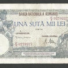 ROMANIA  100000  100.000 LEI  28  MAI  1946   [24]