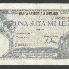ROMANIA  100000  100.000 LEI  28  MAI  1946   [21]   VF