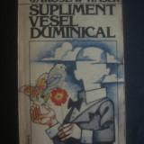 JAROSLAV HASEK - SUPLIMENT VESEL DUMINICAL - Roman