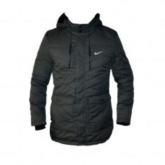 Geaca Nike Air Max - Gri Bleumarin sau Neagra - de iarna - Toate Masurile D715 - Geaca barbati, Marime: L, XL, Culoare: Negru