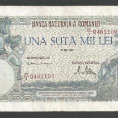 ROMANIA  100000  100.000 LEI  28  MAI  1946   [22]