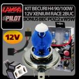KIT BECURI H4 90/100W XENIUM RACE 2BUC, Universal