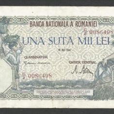 ROMANIA  100000  100.000 LEI  28  MAI  1946   [17]   VF