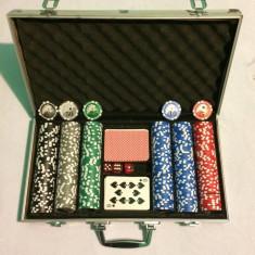 Geanta diploma Set poker, 200 jetoane