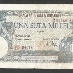 ROMANIA 100000 100.000 LEI 28 MAI 1946 [25] - Bancnota romaneasca